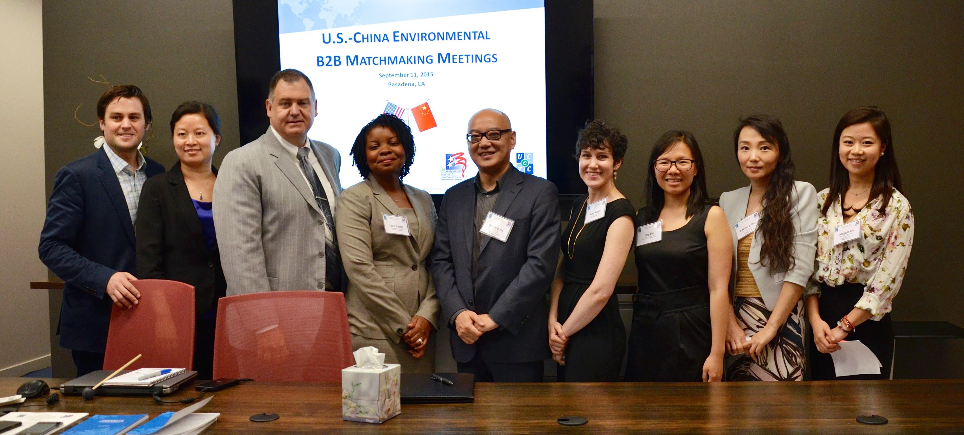 SINO-U.S. Environmental Industry CEO B2B Event