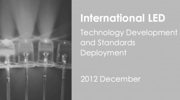 International LED Technology Development and Standards Deployment