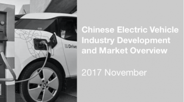 Chinese Electric Vehicle Industry Development and Market Overview